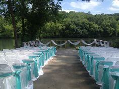 Roswell River Landing Wedding Ceremony