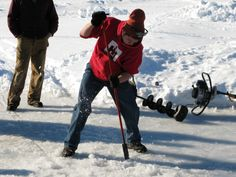 For more than 50 years, Yellowstone Lake State Park has held a fisheree.  Look for it the first weekend in February. Kids ice fishing, a fishing contest and even a hole drilling competition!
