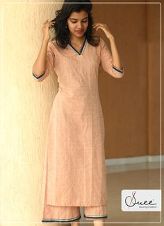Lores of Looms Kurta Set Khadi Kurti, Myanmar Dress Design, Kurta Palazzo, Sabyasachi, Kurta Designs, Work Attire, Fashion Wear, Costume Design, Designer Dresses