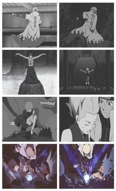 I really am the son of two heroes. #naruto