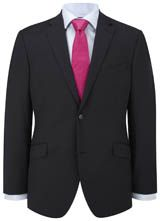"""Contemporary Fit Navy Semi-Plain Jacket from """"Austin Reed"""", Purchase on discounted price using coupon codes and promotional codes."""