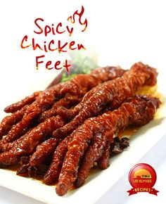 Spicy Chicken Feet Recipe – Food for Healty Spicy Chinese Chicken, Asian Chicken, Chinese Food, Garlic Chicken, Spicy Recipes, Asian Recipes, Cooking Recipes, Filipino Recipes, Jamaican Recipes