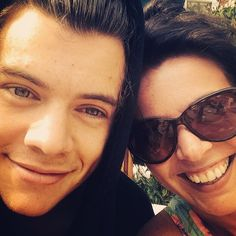 harry and his mom
