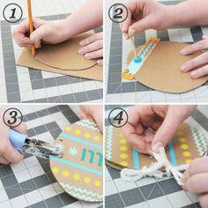 Easter Basket Candy Alternative DIY Doodle Book