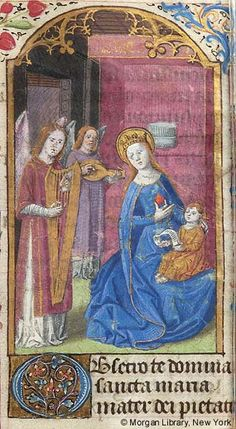 Book of Hours, MS M.195 fol. 21r - Images from Medieval and Renaissance…