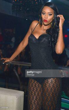 Adiz Bambi' Benson attends Love & Hip Hop Atlanta Take Over at Prive on June 2015 in Atlanta, Georgia. Get premium, high resolution news photos at Getty Images Hip Hop Atlanta, Atlanta Georgia, Joseline Hernandez, Show Queen, Stevie J, Real Tv, Reality Tv Stars, Love N Hip Hop, Bambi