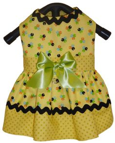 Little Dog Clothes Pattern 1608 Sweet Pea Dress by SofiandFriends, $8.25