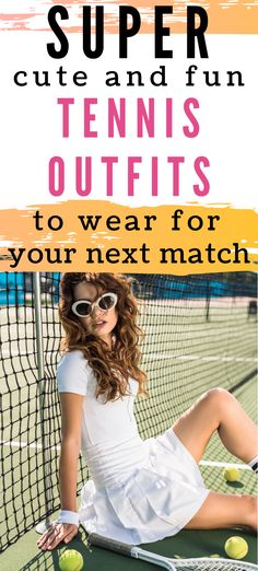Looking to build your tennis wardrobe for the upcoming spring season? These cute tennis outfits are perfect for tennis practices or to where during tennis tournaments. Lots of outfit combinations for skirts, tops, and dresses. Tennis Outfits, Tennis Wear, Tennis Dress, Tennis Clothes, Cute Outfits, Tennis Tops, Tennis Skirts, Tennis Tournaments, Tennis Players