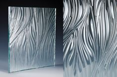 """Enhance your high-end designer project with glass Artwork unlike any other. """"Willow"""" glass, designed with exclusive Freeform Series production by Nathan Allan, is our industry's first texture-less patterned glass. Add some """"Sizzle"""" to your walls or openings, doors or dividers. Impress your clients with the artistic, free flowing, 3-Dimensional shapes. """"Willow"""" is today's current, trendy selection for the discerning designer."""