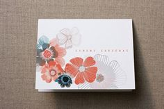 Dry Petals Personalized Stationery by Gleaux at minted.com--already have