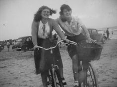 1940's pals on Dolly mount strand.