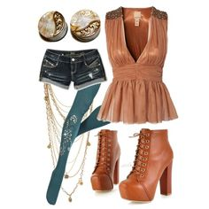 """Summer 2013- Shimmer"" by fightsoftly on Polyvore"