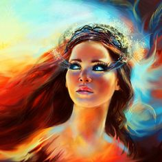 Katniss Everdeen has inspired her fair share of art. This digital painting comes from 19-year-old Bulgarian artistKristina Tsenova, and we highly recommend you check out the full-size version since we had to crop it to fit this space.