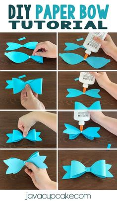 halloween crafts for toddlers DIY Paper Bows DIY Paper Bow Tutorial Diy Hair Bows, Diy Bow, Diy Ribbon, Ribbon Flower, Ribbon Hair, Fabric Flowers, Hair Bow Tutorial, Diy Tutorial, Flower Tutorial