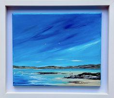 Walking on the Beach — Rine Philbin Art Watercolour, oils and acrylic paintings Dry Sand, White Box Frame, Connemara, Beach Walk, Beach Scenes, Box Frames, Walk On, Watercolor Art, Waves