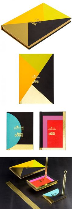 Tom Dixon Notebooks - Ink Pocket and Sketch