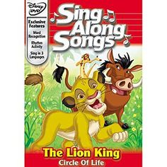 Disney Sing Along Songs: The Circle of Life DVD | Disney StoreSing Along Songs: The Circle of Life DVD - Sing along with your favorite musical selections from Disney's <i>The Lion King</i>, plus songs from <i>The Jungle Book 2</i>, <i>Beauty and the Beast</i> and more. A rip-roaring good time!