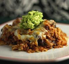 Taco Casserole Source: healthy-delicious