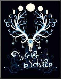 {Rune Circle - Yule} by {fibacz} Merry Yule and a Blessed Winter Solstice to you all Hirsch Wallpaper, Pagan Art, Pagan Yule, Sabbats, High Fantasy, Book Of Shadows, Magick, Pagan Witchcraft, Religion
