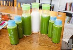 My Juice Cleanse inspired by BluePrintCleanse Excavation Cleanse | vegan miam