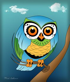 'Owl' by Mark Ashkenazi