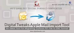 Migrate from #PST to #EML using an automated email Migrator.