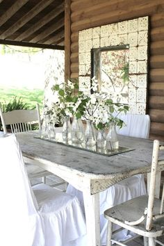 Porch Dining Ideas