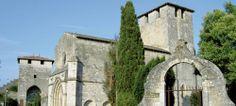 Eglise et remparts de Vianne