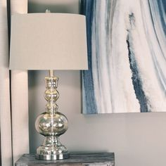 Shop for Safavieh Lighting Clear Glass Table Lamp (Set of - Get free delivery On EVERYTHING* Overstock - Your Online Lamps & Lamp Shades Store! Get in rewards with Club O! Clear Glass Table Lamp, Mercury Glass Lamp, Glass End Tables, Table Lamp Wood, Table Lamp Sets, Lamp Shade Store, Light Bulb Types, Glass Shades, Shopping