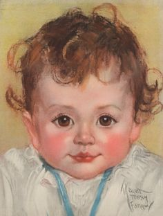 Vintage baby -- by Maud Tousey Fangel (American, 1881--1968)