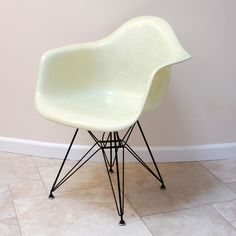 White Herman Miller Zenith Chair designed by Charles by chairform, $1800.00