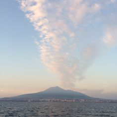 Before sunset, Vesuv