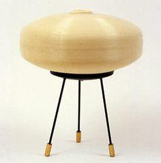 Pierre Guariche, Lampe « Rotaflex », circa 1950.