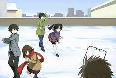 Takane, Shintaro, Haruka, Ayano & Ayano's Dad