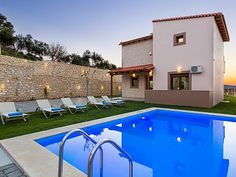 Rethymno villa rental - Villa Renta Georgios the perfect place to just sit and relax.