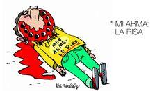 Viñeta contra atentado #CharlieHebdo