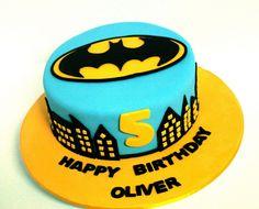 Chocolate Mud Batman Cake by Sweet Things Cake Company, via Flickr