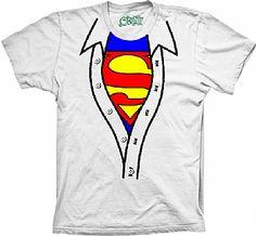 Camiseta Superman - Camisa Aberta - Mostre o super herói que existe  escondido em você! Revele-se! a1332453870cc