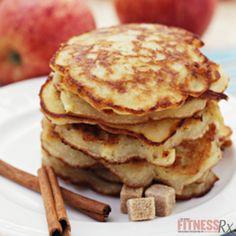 Harvest Apple Spice Pancakes | FitnessRX for Women