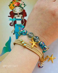 DIY summer bracelets!