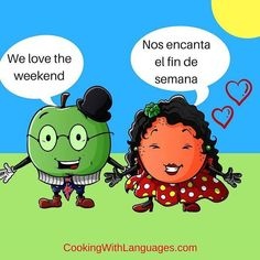 Woo hoo it's  the weekend  el fin de semana  Have a great one ! We make #languagelearning fun! #aprenderingles #aprenderespañol #learnspanish #learnenglish #mfl #bilingual #cookingwithlanguages #cooking4kids #language #ahamijas #easyrecipe #mkbfood #kidscooking #cookingwithkids #schoolgarden #huerta #growyourown #homegrown Watch out for our #Kickstarter campaign for new and exciting ideas! http://ift.tt/2cKCvpX