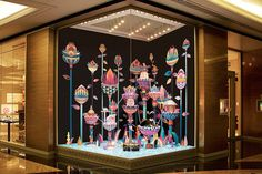 New Dubai Hermès Store Windows by Zim & Zou