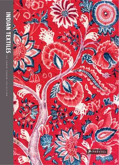 """Beautiful cover for """"Indian Textiles: The Karun Thakar Collection"""" by John Guy and Rosemary Crill."""