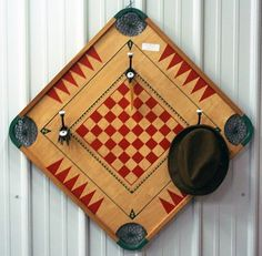 Board games 541346817684868182 - Play on Playas: 18 Ways to Repurpose Board Games via Brit + Co. Source by nancyjstaub Board Games For Two, Classic Board Games, Game Boards, Carrom Board, Orb Light, How To Make Coasters, Vintage Kitchen Decor, Repurposed Items, Old Games