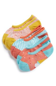 Tucker + Tate 'Sweet Treats' Liner Socks (3-Pack) (Little Kid & Big Kid) available at #Nordstrom