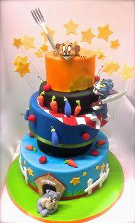 Cake Designer: Torta Tom e Jerry