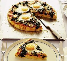 An easy vegetarian supper or a satisfying weekend lunch