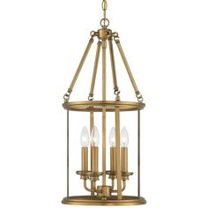 View the Minka Lavery 4174-249 4 Light Indoor Lantern Pendant from the Harbour Point Collection at LightingDirect.com.