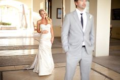 Gorgeous dress and hair. Cabo Wedding  Photo: Tim King
