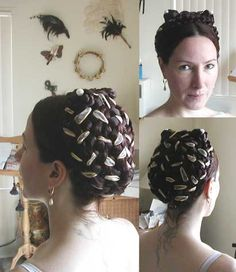 Shakespearean Hair   well hair was interesting as my own hair is only long enough to be ...